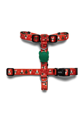 Peitoral Zee.Dog H-Harness Rudolph