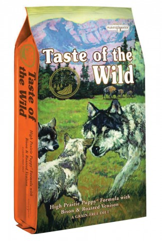 Taste of the Wild Puppy Bisonte & Veado
