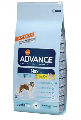 Advance Maxi Adulto Light Frango & Arroz