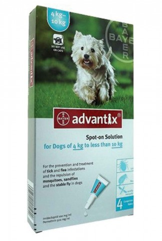 Advantix Desparasitante 4-10Kg