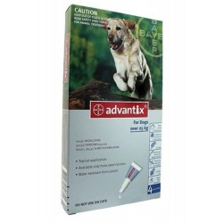 Advantix Desparasitante 25Kg