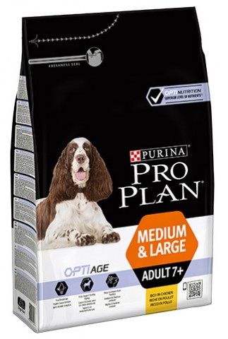 Purina Pro Plan Optiage Medium & Large